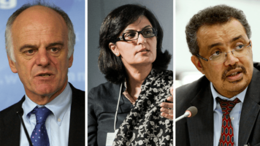 And the top 3 WHO director-general candidates are – Dr Tedros Adhanom tops list of WHO candidates